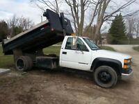 2 trucks   cheap  dump and pick up
