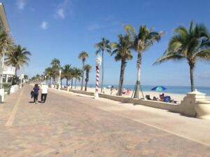 Florida-HOLLYWOOD BEACH seasonal CONDO Rental