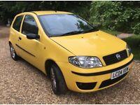 Fiat Punto – 1.2 – Active Sport 8V - 2004 - 68,600 miles - full MOT - £399