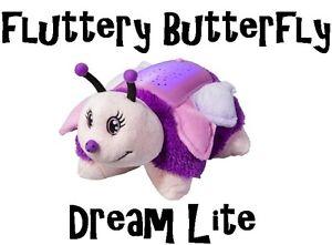 Dream Lites Pillow Pets Fluttery Butterfly Night Light As