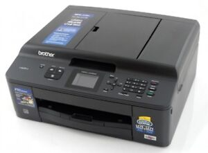 Brother MFC-J435W Network Ready Wireless AiO Print Copy Scan FAX