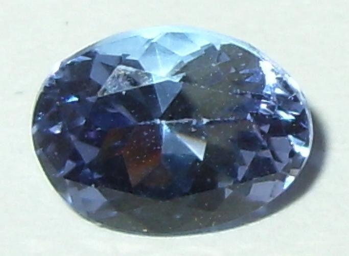 1.61ct Valuable Flawless Blue Purple Tanzanite Oval Cut