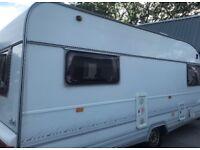 6 berth caravan with all extras