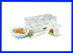 NEW - Cuisipro Donvier Electronic Yogurt Maker Processor