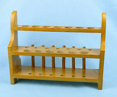 Test Tube Stand 2 Row 2 Tier With Drying Rack