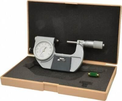 Mitutoyo 1 To 2 Inch Range 0.0001 Inch Graduation Mechanical Indicating Mic...