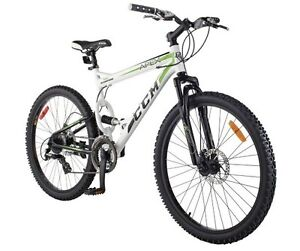 "CCM Apex 26"" Full Suspension Mountain Bike, in great condition."