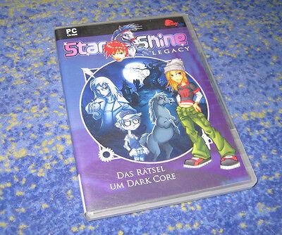 PC Pony Club Star Shine Legacy: Dark Core STARSHINE !!! Deutsche Vollversion  gebraucht kaufen  Oberhausen-Rheinhausen