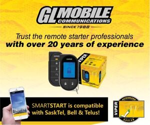 Remote starters - installed by professionals!