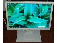 "20"" Fujitsu Siemens widescreen LCD monitor for PC / Dual Screen / Laptop / CCTV SECURITY CAMERA"