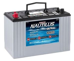 MotoMaster Group 31 AGM Deep Cycle Battery Package