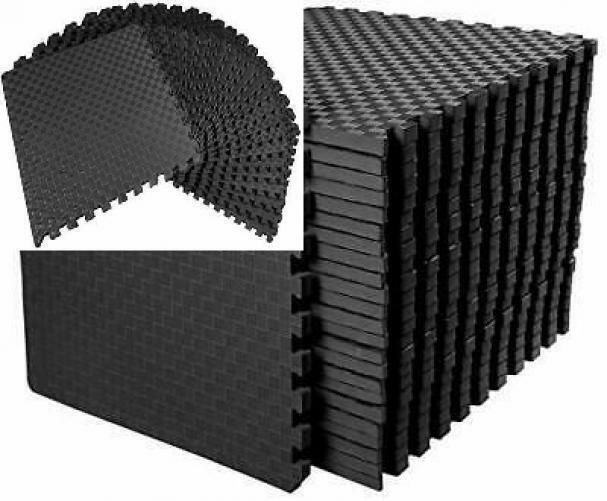 """BalanceFrom 1"""" Extra Thick Puzzle Exercise Mat with EVA Foam"""