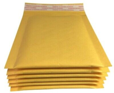 40 Pack 3.5 X 5 Inches Small Padded Envelopes Kraft Bubble Mailers Self Seal