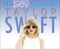 Taylor Swift 1989 World Tour tickets!
