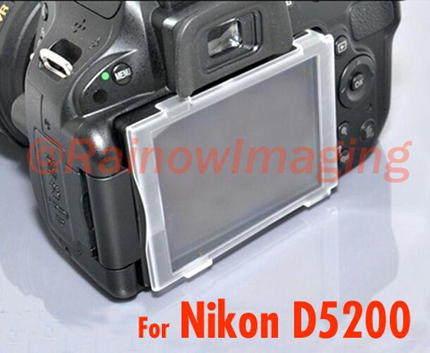 JJC Hard LCD Screen Cover Protector for Nikon D5200 DSLR US Shipping