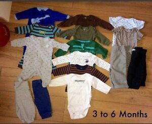 Baby boy clothes From 3 to 9 Months