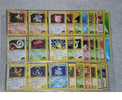 Complete Pokemon 1st Edition GYM HEROES Card Set 132/132! Ultra Rare First Ed, used for sale  Shipping to Nigeria