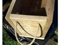 Tanalised Garden Planter - Wood window box