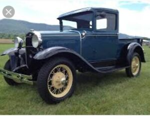 WANTED 1930-1931 Stock Restored Model A Pick Up.