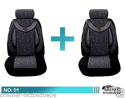 Mercedes Citan Schonbezüge Sitzbezug Sitzbezüge Fahrer & Beifahrer 01