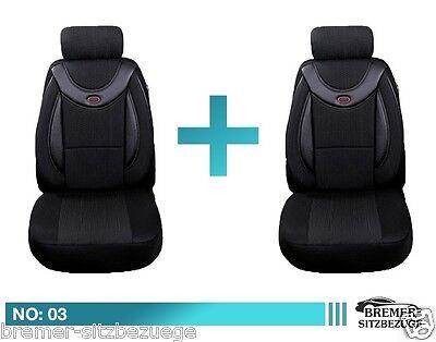 Mercedes Citan Schonbezüge Sitzbezug Sitzbezüge Fahrer & Beifahrer 03