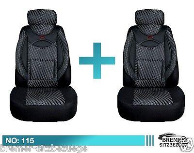 Mercedes GLK X204 Maß Schonbezüge  Sitzbezüge Fahrer & Beifahrer 115