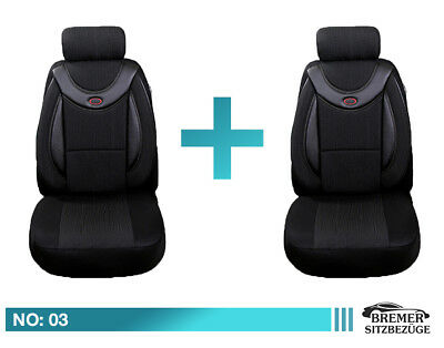 BMW X3  E83 F25 Schonbezüge Sitzbezüge Fahrer /&Beifahrer Kunstleder D105