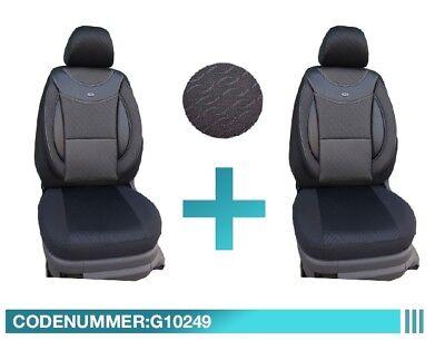 Maß Schonbezüge Mercedes C Klasse W204 S204 Sitzbezüge Fahrer & Beifahrer G10249