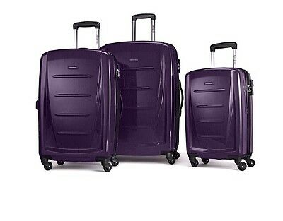 Samsonite Winfield 2 Fashion Hardside 3 Piece Spinner Set - Purple (56847-1717)