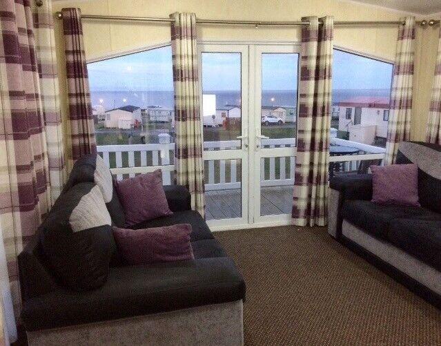 Caravan for hire at Crimdon Dene holiday park 8 berth