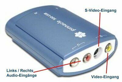 Pinnacle Studio MovieBox 500-USB - wie 510-USB (auch WIN10)