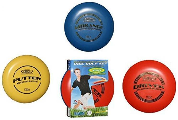 ESP Disc Golf Set - 3 - PDGA Tournament Certified