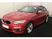 BMW 218 M Sport FROM £88 PER WEEK!