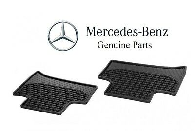 Genuine Mercedes Benz C Class W205 15-18 Sedan Rear Black All Season Floor Mats
