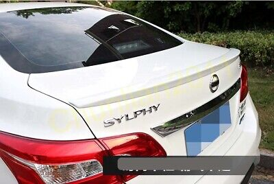 Rear Factory Style Spoilers Trunk Boot Lip Wing Spoiler for 13-19 Nissan Sentra