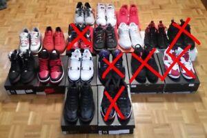 Jordan/Nike/Saucony Sneaker Collection