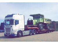 Lowloader haulage