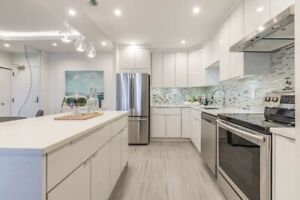 Acrylic High Gloss European Frameless Kitchen Cabinets-Mission