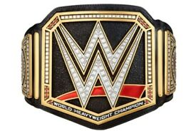 wwe world heavyweight adult size belt brand new