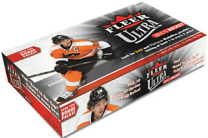 2014-15 Upper Deck Fleer Ultra Hockey Cards Box