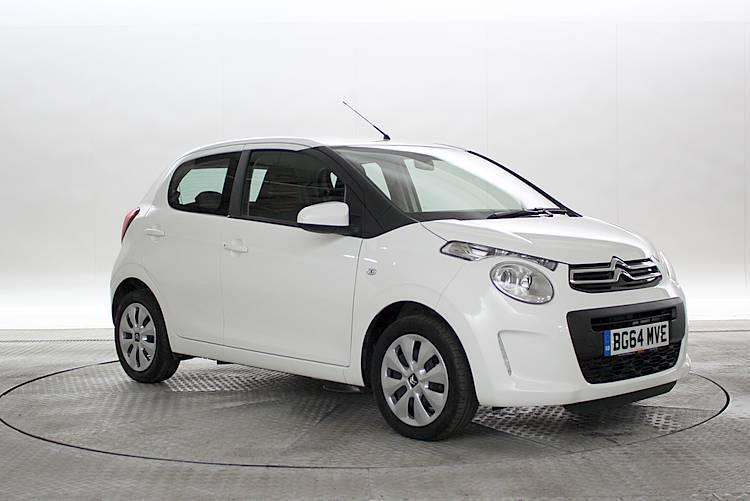 2014 64 reg citroen c1 1 0 feel new shape lipizan white 5 standard petrol manu in west. Black Bedroom Furniture Sets. Home Design Ideas