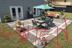 Wanted - Outdoor Dining Set
