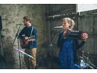 Upbeat Acoustic Duo available for weddings and private bookings