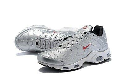 Nike Air Max Tn Plus Metallic Silver n.42 Nuove