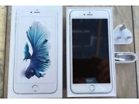 iPhone 6s Plus 64gb silver ( swap for Samsung s7 edge )