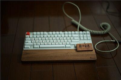 HEART for 87 key Walnut Palm Rest Keyboard Wood Wrist Protec