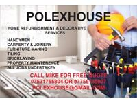 HOME REFURBISHMENT & DECORATIVE SERVICES