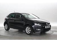 2014 (14 Reg) Volkswagen Polo 1.2 TDi Match Edition Deep Black 5 STANDARD DIESEL