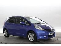 2013 (13 Reg) Honda Jazz 1.4 EX # Mid Met Blue 5 STANDARD PETROL MANUAL