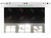 Made to measure black out Roman blinds x 3
